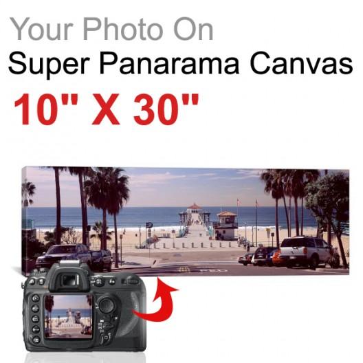 "Super Panorama 10"" X 30"""