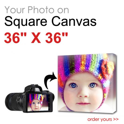 Canvas Print Square 36 x 36