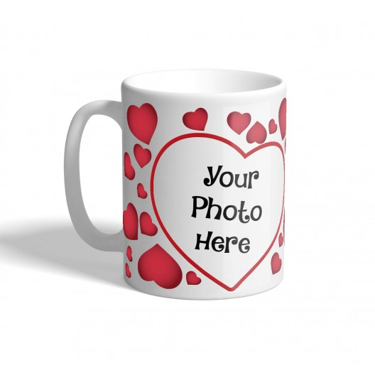crazy heart mug