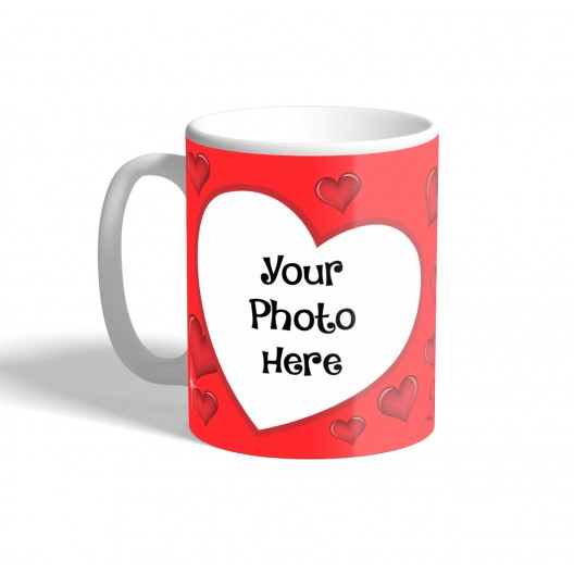 love photo mug