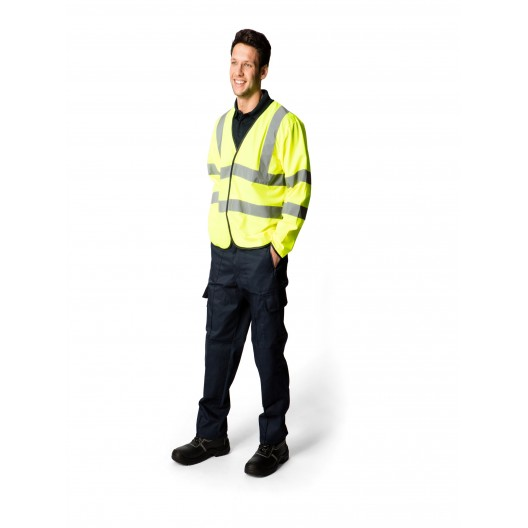 Long Sleeve Safety Waist Coat
